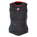 Diva Womens Impact Vest Back Zip Teal