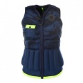 Diva Womens Impact Vest Navy Lime