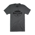 Nautique Curve Tee Deep Heather Grey
