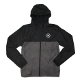 Nautique Lightweight Windbreaker Jacket Black/Graphite