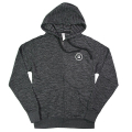 Nautique Terry Stripe Full Zip Hoodie Baja Black