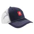 Nautique Step Cap Navy/White