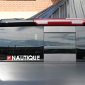 Nautique 12inch Vinyl Window Decal