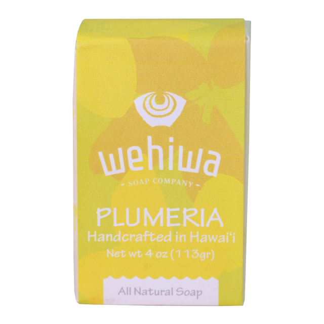 Wehiwa Bar Soap プルメリア
