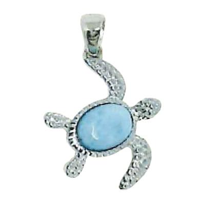 Larimar Stone Jewelry ホヌネックレス