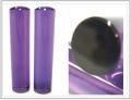 「紫水晶(アメジスト)印鑑12.0mm×60mm」 銀行印・認印向けサイズ 印鑑ケース付 はんこ・印鑑