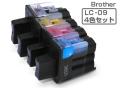 Brother(ブラザー)インクカートリッジ LC09-4PK4色パック