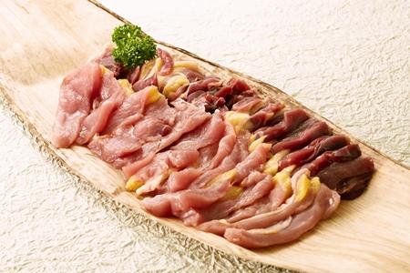 きじ肉 鍋用スライス600g【自家製10倍濃縮つゆ200ml付き】