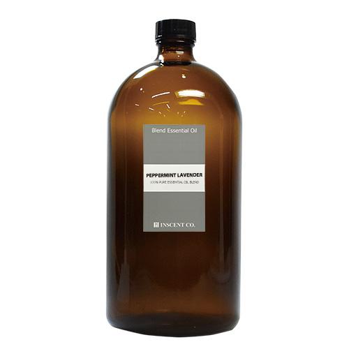 ブレンド ペパーミントラベンダー 1000ml インセント エッセンシャルオイル 精油