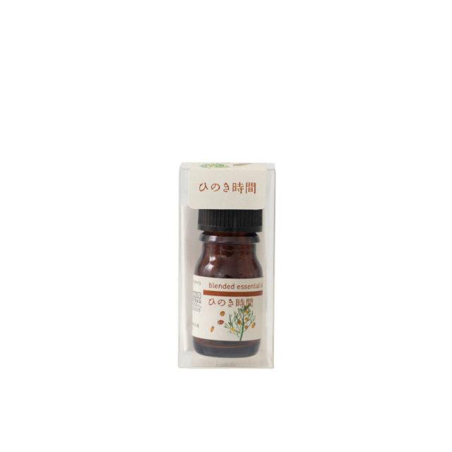 生活の木 ブレンドエッセンシャルオイル ひのき時間 5ml エッセンシャルオイル 精油
