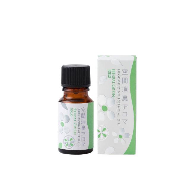 生活の木 ブレンドエッセンシャルオイル 空間消臭アロマ ハーバルグリーン100.0 10ml エッセンシャルオイル 精油
