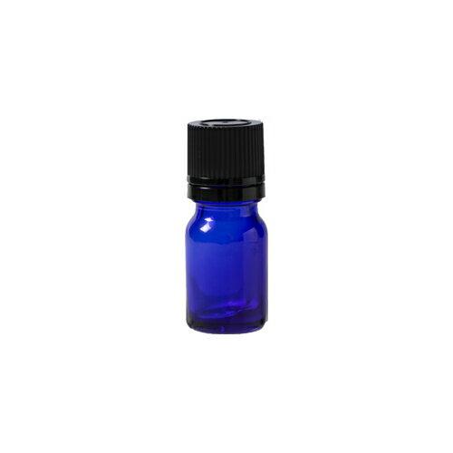 生活の木 青色ガラス瓶 5ml ドロッパー付