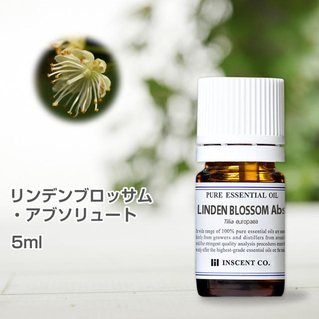 リンデンブロッサム・アブソリュート 5ml インセント エッセンシャルオイル 精油