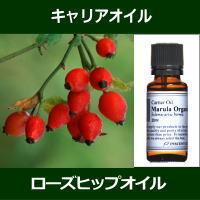 ローズヒップオイル[未精製] 20ml ~キャリアオイル(植物油/ベースオイル)~ 【IST】