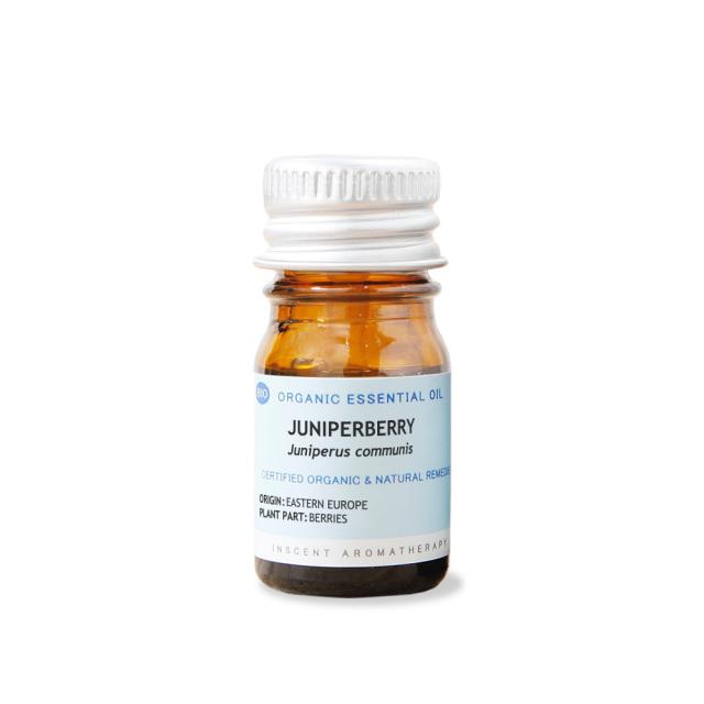 [オーガニック] ジュニパーベリー 5ml インセントオーガニック エッセンシャルオイル 精油