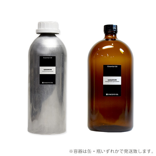 【PRO USE】ゼラニウム 1000ml インセント エッセンシャルオイル 精油