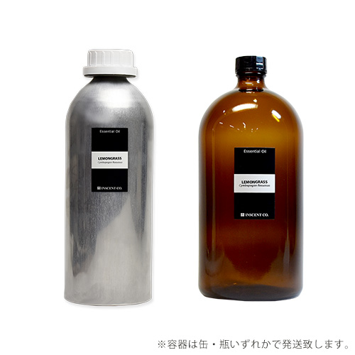 【PRO USE】レモングラス 1000ml インセント エッセンシャルオイル 精油