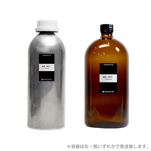 【PRO USE】柚子(ゆず) 1000ml  (高知県/四万十産) インセント エッセンシャルオイル 精油
