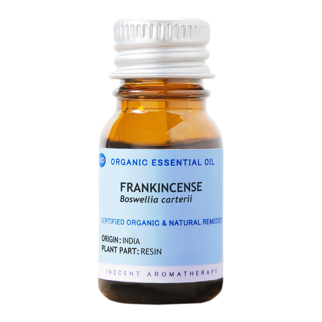 [オーガニック] フランキンセンス(オリバナム/乳香) 10ml インセントオーガニック エッセンシャルオイル 精油