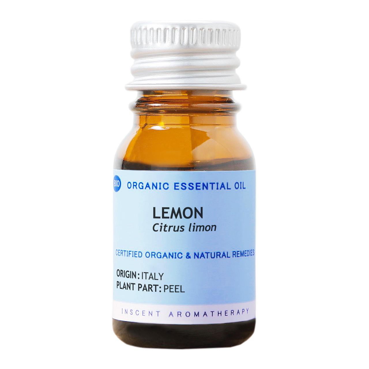 [オーガニック] レモン 10ml インセントオーガニック エッセンシャルオイル 精油