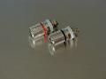 ロジウムメッキスピーカー端子 [赤・黒セット] SP3-RO