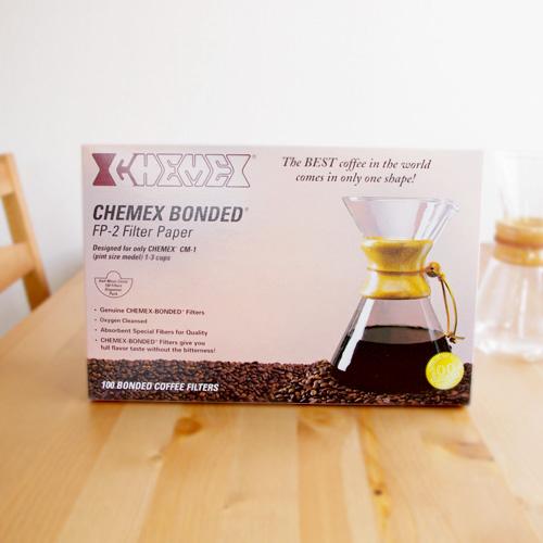 CHEMEX(ケメックス) コーヒーメーカー 3カップ用フィルター(100枚入り)