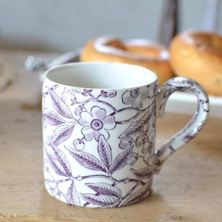 Burleigh(バーレイ) プラムプルナス マグカップ