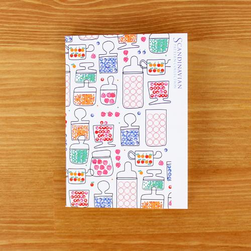 Scandinavian Pattern Collection(スカンジナビアンパターンコレクション) パスポートノート/Ann Carin Wiktorsson(アン・カーリン・ヴィクトルソン)