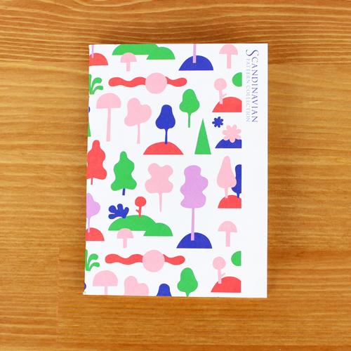 Scandinavian Pattern Collection(スカンジナビアンパターンコレクション) パスポートノート/Anna Lindsten(アンナ・リンドステン)