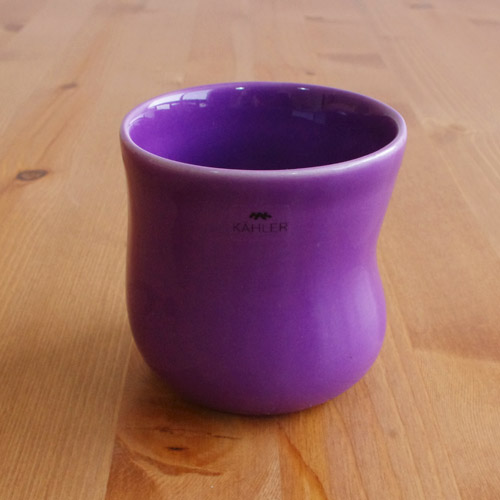 Kahler(ケーラー) マノカップ バイオレット