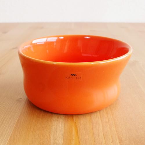 Kahler(ケーラー) マノボウル オレンジ