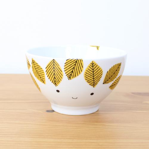 House of Rym (ハウスオブリュム) ボウル Yellow leaves