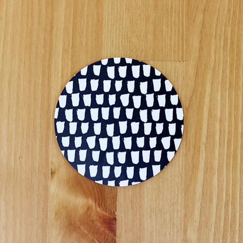 Scandinavian Pattern Collection(スカンジナビアンパターンコレクション) コースター/Skuggspel(シャドウプレイ)