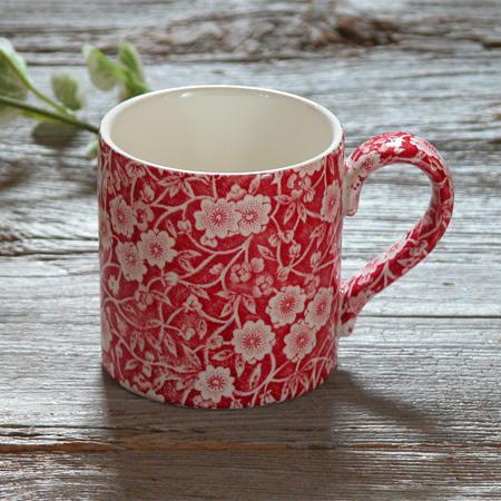 Burleigh(バーレイ) レッドキャリコ マグカップ