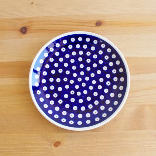 ポーリッシュポタリー Zaklady(ザクワディ) プレート19.5cm