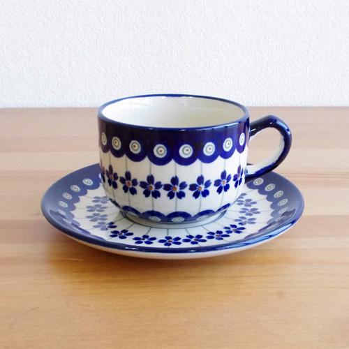 ポーリッシュポタリー Zaklady(ザクワディ) カップ&ソーサー