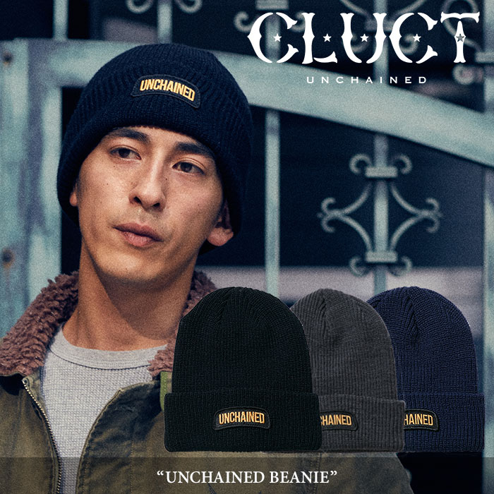 【SALE30%OFF】 CLUCT(クラクト) UNCHAINED BEANIE 【2017HOLIDAY新作】 【即発送可能】 【CLUCT ビーニー】 【#02628】