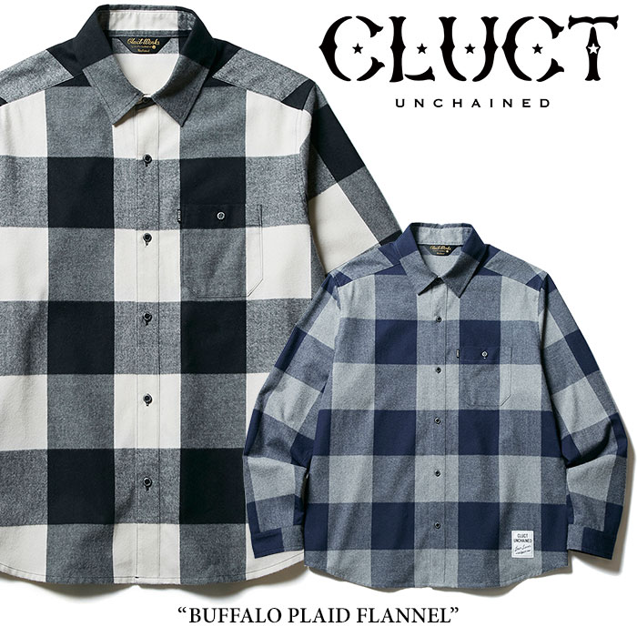 【SALE30%OFF】 CLUCT(クラクト) BUFFALO PLAID FLANNEL 【2017HOLIDAY新作】 【送料無料】【即発送可能】 【CLUCT シャツ】【#