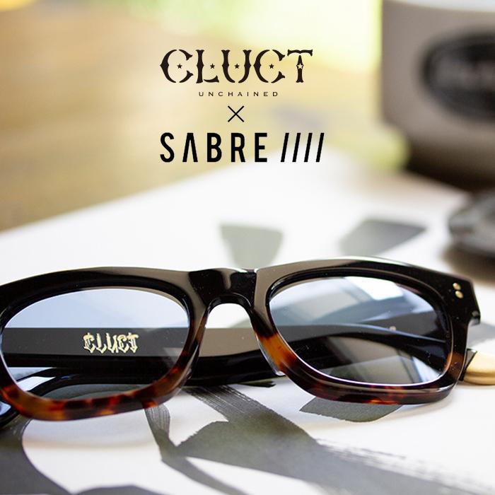 CLUCT(クラクト) CLUCT x SABRE SUNGLASSES 【サングラス】【メガネ 眼鏡】【#04000】
