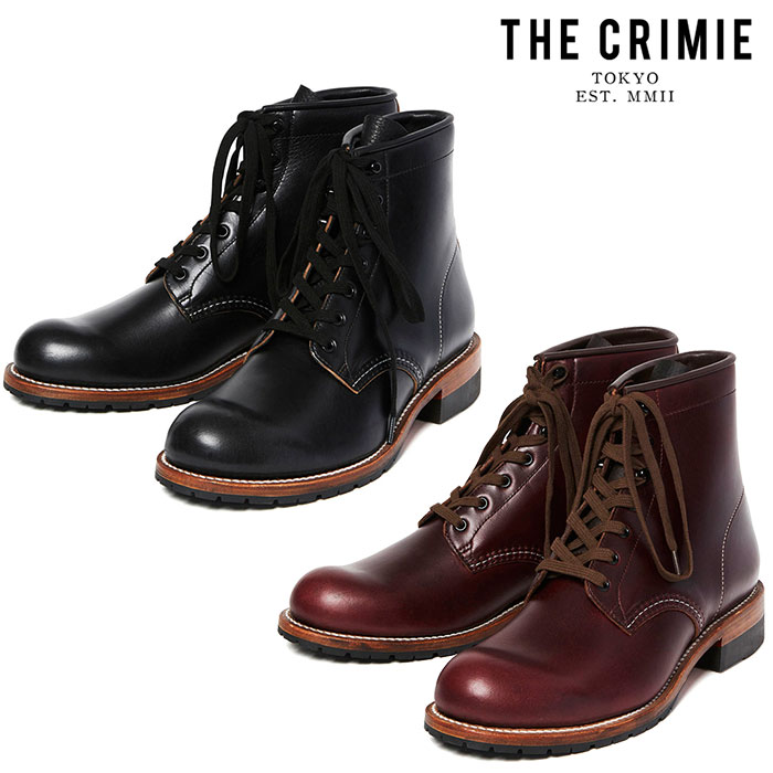 """CRIMIE(クライミー) THE LACE UP COMBAT BOOTS 【""""THE"""" SERIES COLLECTION 先行予約】【定番商品】【キャンセル不可】【CRA1-FWLT-"""