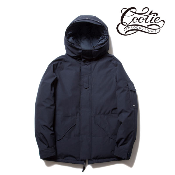 COOTIE(クーティー) T/C Weather Cloth Down Jacket(NAVY)
