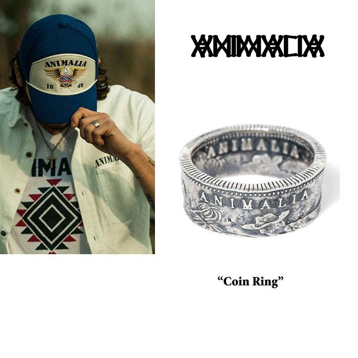 ANIMALIA(アニマリア) CA1849 Coin Ring(SILVER) 【先行予約】 【送料無料】【キャンセル不可】  【THE CHERRY COKE$】 【ANIMA