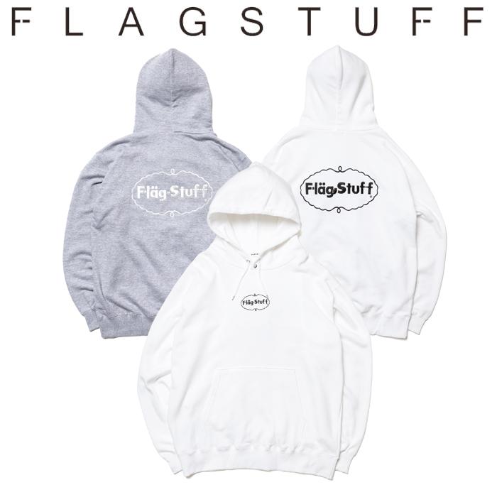 "F-LAGSTUF-F(フラグスタフ) ""ICE LOGO"" HOODIE 【パーカー スウェット】【送料無料】【19AW-SPOT-FS-06】 【F-LAGSTUF-F】【FLAGS"