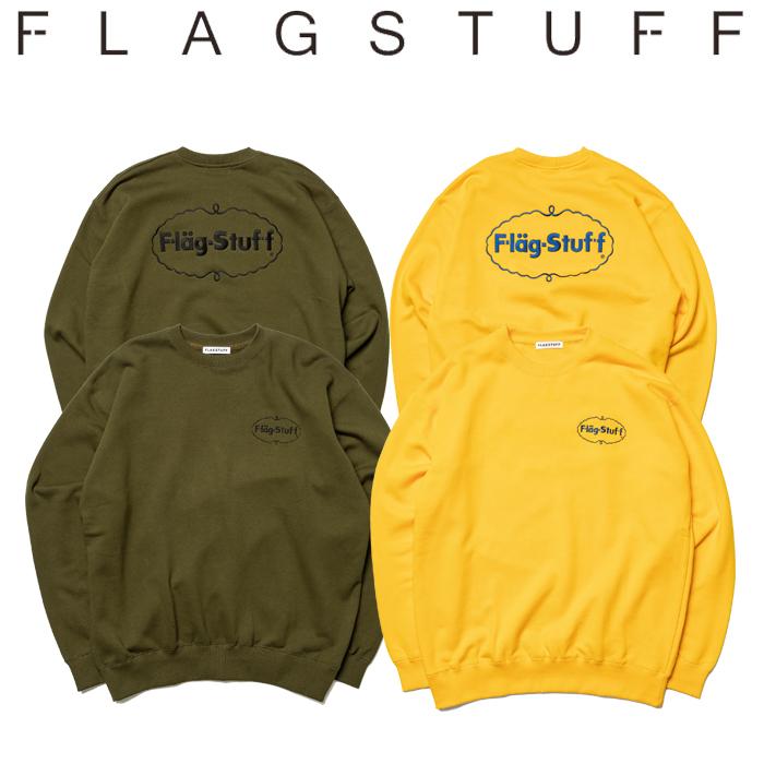 """F-LAGSTUF-F(フラグスタフ) """"ICE LOGO"""" SWEAT 【パーカー スウェット】【送料無料】【19AW-SPOT-FS-07】 【F-LAGSTUF-F】【FLAGST"""