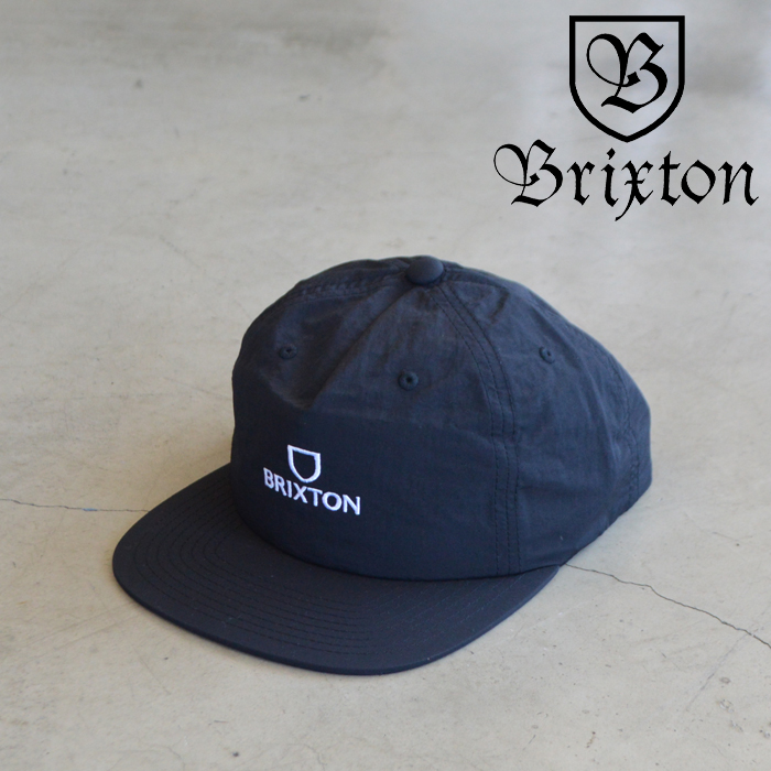 BRIXTON(ブリクストン) ALPHA MP SNAPBACK CAP (BKWHT) 【5パネルキャップ キャップ 帽子】【2021 SUMMER新作】