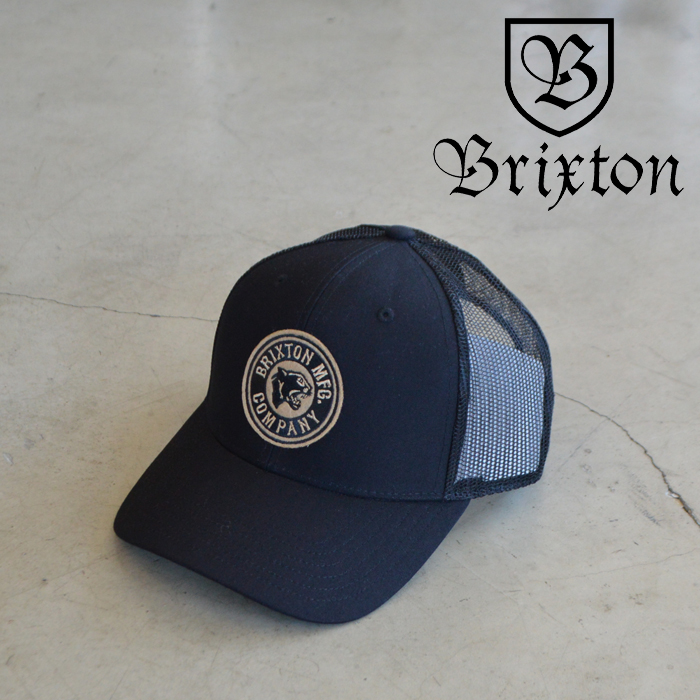 BRIXTON(ブリクストン) FORTE MP MESH CAP 【メッシュキャップ キャップ 帽子】【2021 SUMMER新作】