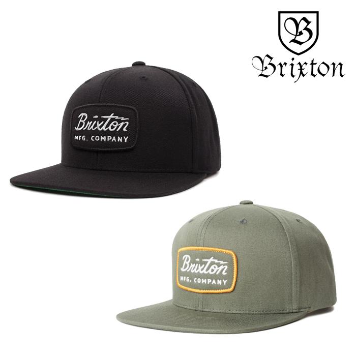 BRIXTON(ブリクストン) JOLT SNAPBACK CAP 【スナップバックキャップ 帽子】【2020SPRING新作】【ブラック】