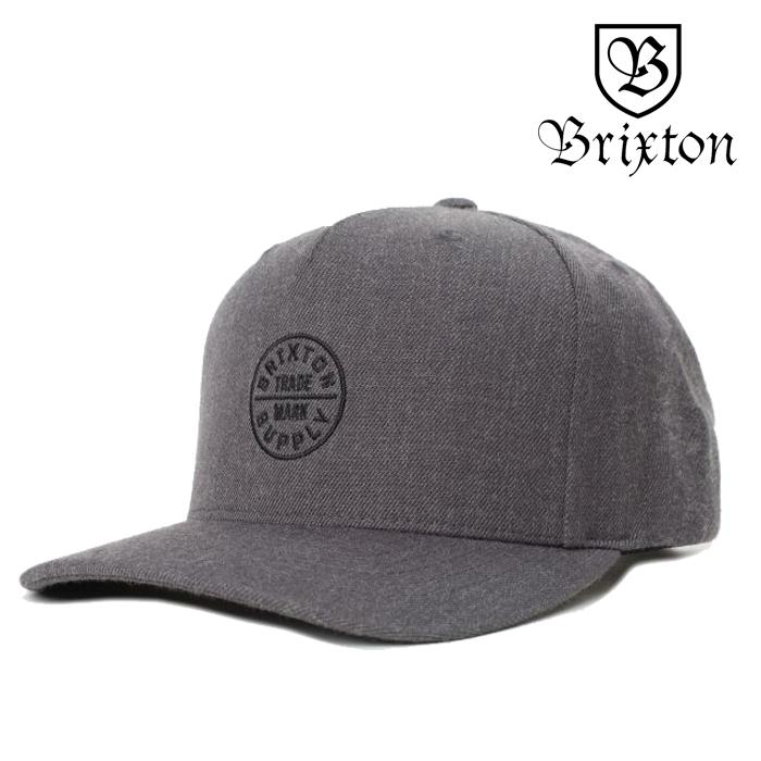 BRIXTON(ブリクストン) OATH 110 MP SNAPBACK CAP 【スナップバックキャップ 帽子 5パネル】【2020SUMMER新作】