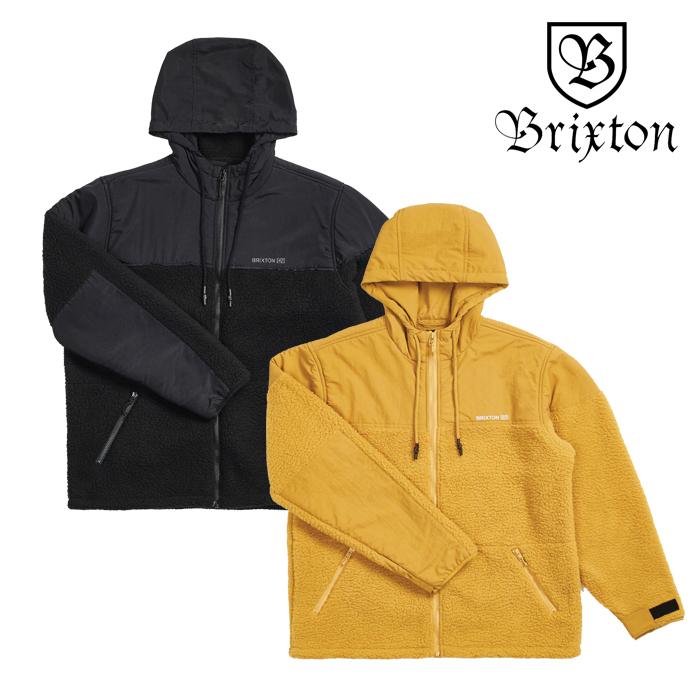 BRIXTON(ブリクストン) OLYMPUS AT JKT 【2019HOLIDAY新作】【送料無料】【フリース フルジップジャケット】