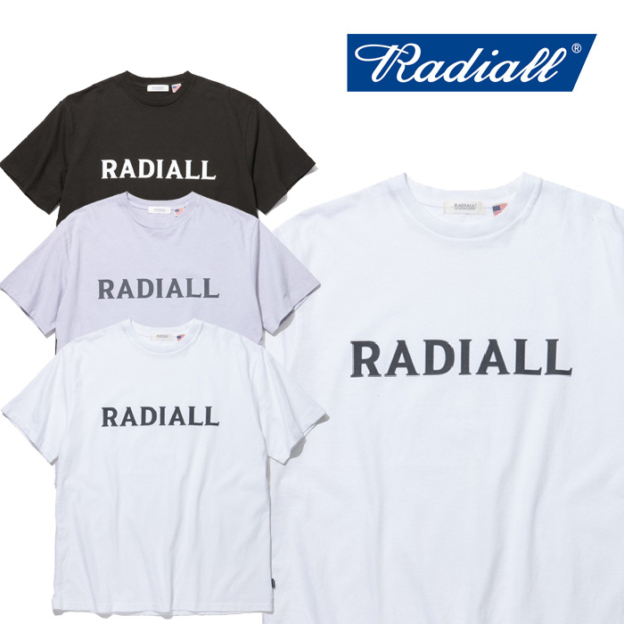 RADIALL(ラディアル) LOGO TYPE - CREW NECK T-SHIRT S/S 【2019 SPRING&SUMMER COLLECTION】 【RAD-19SS-CUT004】【Tシャツ】